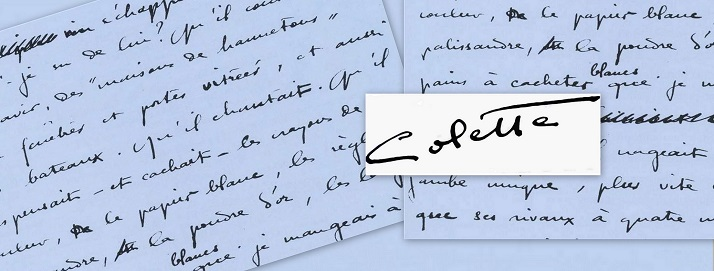 Colette-manuscrit